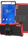 misturar cores TPU&pc pesados caso estande da armadura para o Sony Xperia z2 / z3 / z4 / z3 Mini / mini-z4 (cores sortidas)
