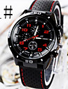 Men's Watches Car Line Fashion  Silicone Strap Sport  Watch Cool Watch Unique Watch