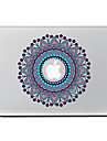 flor circular 25 adesivo decorativo pele para o ar macbook / pro / Pro com tela retina