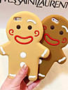 Gingerbread Man Silicone Phone Case For iPhone 6s 6 Plus