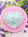 fleurs en forme de coeur fondant au gateau des moules en silicone de chocolat, des outils de decoration ustensiles de cuisson