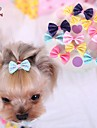 Cat / Dog Hair Accessories / Hair Bow Blue / Pink / Yellow / Rose Dog Clothes Spring/Fall Wedding / Cosplay