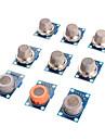 아두 이노를위한 가스 센서 MQ-2 MQ-3 MQ-4 MQ-5 MQ-6 MQ-7 MQ-8 MQ-9 MQ-135 센서 키트 모듈