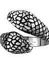 Кольцо Бижутерия Нержавеющая сталь Сталь Змея Бижутерия Уникальный дизайн Мода Черный БижутерияСвадьба Для вечеринок Halloween