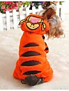 Cat / Dog Coat / Hoodie Orange Winter Animal / Cartoon Cosplay