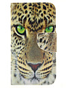 For Samsung Galaxy Case Wallet / Card Holder / with Stand / Flip Case Full Body Case Animal PU Leather Samsung S5 Mini