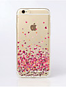 Para Funda iPhone 5 Transparente / Disenos Funda Cubierta Trasera Funda Corazon Suave TPU iPhone SE/5s/5