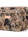 diseno lindo perro 10/11 / 12inch caja del filtro de la manga del ordenador portatil de la lona ultrabook para lenovo macbook dell