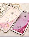 For iPhone 6 Case / iPhone 6 Plus Case Flowing Liquid Case Back Cover Case Glitter Shine Soft TPU iPhone 6s Plus/6 Plus / iPhone 6s/6