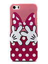 Butterfly knot Pattern TPU Soft Case for iPhone 5/5S
