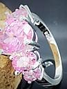 Кольца Свадьба / Для вечеринок / Повседневные Бижутерия Серебрянное покрытие Женский Массивные кольца 1шт,8 Серебряный