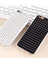 The Simple Black and White Color Matt Small Lattice TPU Cases for iPhone 5/5S(Assorted Colors)