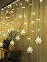 Рождество занавес КТВ бары свадьбы мерцание огней водопад украшения лампы водонепроницаемый свет шнура 3м