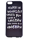 Unicorn Painting Pattern PC Case for iPhone 5C