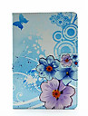 fleurs individuelles peints etui pour iPad Mini 4 (couleurs assorties)