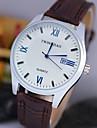 L.WEST Men\'s Analog The Calendar Diamonds Quartz Watch Wrist Watch Cool Watch Unique Watch