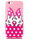 Pour Coque iPhone 6 Coques iPhone 6 Plus Motif Coque Coque Arriere Coque Dessin Anime Flexible PUT pour iPhone 6s Plus/6 Plus iPhone 6s/6