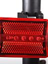 Задняя подсветка на велосипед LED - Велоспорт Простота транспортировки / Осторожно! AAA 100LM Люмен Батарея Велосипедный спорт / мотоцикл