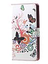 Назначение Кейс для Nokia Чехлы панели Кошелек Бумажник для карт со стендом Чехол Кейс для Бабочка Твердый Искусственная кожа для Nokia