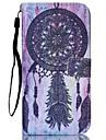carillons eoliens peint en noir PU cas de telephone pour iphone5c