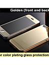 φιλμ προστασίας κατά της έκρηξης γυαλί καθρέφτη χρώμα επιμετάλλωση (εμπρός και πίσω) για iphone4