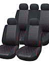 9 шт / Установить сиденье автомобиля включает универсальный подходит материала жаккарда материал с 3 мм композитных губка автоаксессуаров