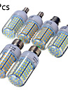 YWXLight® 5 pcs E14/E27/B22 20W 126SMD 2835 1850LM Warm/Cool White LED Bulbs AC 220-240 V