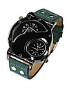 Watches Men Large Dial Watch Dual Movement Waterproof Wrist Watch Relogio Masculino Quartz Watch (Assorted Colors)