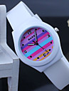 Children's colorful Silicone Band Quartz Analog Wrist Watch Cool Watches Unique Watches Fashion Watch