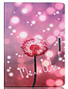 For Samsung Galaxy Case Card Holder / Wallet / with Stand / Flip / Pattern Case Full Body Case Dandelion PU Leather SamsungTab 4 10.1 /