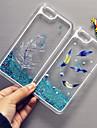 plume maycari®flying bling sables mouvants motif en étoile pc transparent de cas pour iphone 6 6s / iphone (couleurs assorties)
