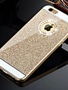HZBYC® Solid Luxury Bling Glitter Back Cover Case with Diamond for iPhone 6s 6 Plus