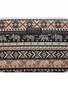 13\'\' 14\'\' 15.6\'\' Baby Elephant Rhombus Pattern Canvas Bag Computer Protective Sleeve Case for Macbook 13 /15 HP lenovo