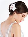 Женский Ткань Заставка-Свадьба Особые случаи на открытом воздухе Цветы
