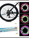 Světla na kolo , kola světla - 3 Režim 100 Lumenů Voděodolný AAA x 3pcs Bateria Cyklistika / Rybaření Niebieski Jezdit na kole XIE SHENG