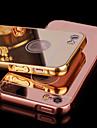 Til Etui iPhone 5 Belegg Speil Etui Bakdeksel Etui Ensfarget Hard Akryl til iPhone SE/5s/5