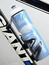 Велоспорт Бутылки для воды Велоспорт Удобный Синий пластик