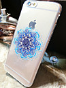 For iPhone 6 Case / iPhone 6 Plus Case Transparent / Pattern Case Back Cover Case Flower Soft TPU iPhone 6s Plus/6 Plus / iPhone 6s/6