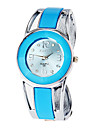 Women's Watch Bracelet Watch Blue Round Dial Cool Watches Unique Watches
