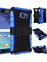 2 in 1 Dual-color Detachable PC+TPU Hybrid Case with Kickstand for Samsung Galaxy Note 3/Note 4/Note 5/Note 5 Edge