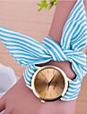아가씨들 패션 시계 석영 가죽 밴드 꽃패턴 블랙 블루 핑크 로즈