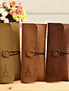 Plush Suede Leather Pencil Case Stationery Kits