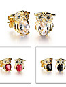 Earring Animal Shape / Owl Stud Earrings Jewelry Women Wedding / Party / Daily / Casual / Sports Titanium Steel / Gold Plated 1set Gold