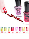 Temperature Change/Gradient Color Soak-off Nail Polish(11ml,1-10# Color Available)
