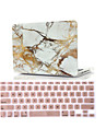 """2 in 1 Marble Rubberized Hard Case Cover +Keyboard Cover for Macbook Air 11""""Retina 13""""/15"""""""