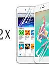 anti-huella digital protector de pantalla de primera calidad de alta definicion mas alta para el iphone 5 / 5c / 5s (2 piezas)