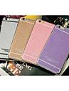 Pour Coque iPhone 5 Autre Coque Coque Arriere Coque Brillant Flexible PUT pour iPhone SE/5s/5