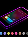 전화는 아이폰에 대한 투명 TPU 뒤 표지 케이스를 깜박 5 / 5S (모듬 색상)를 주도