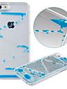 Pour Coque iPhone 6 Coques iPhone 6 Plus Liquide Transparente Coque Coque Arriere Coque Dessin Anime Dur Polycarbonate pouriPhone 6s