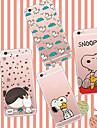 Pour Coque iPhone 5 Ultrafine Transparente Motif Coque Coque Arriere Coque Dessin Anime Flexible PUT pour iPhone SE/5s/5